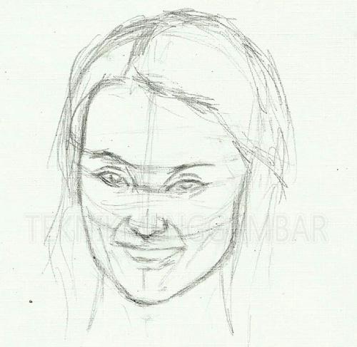 Tutorial Menggambar Wajah Manusia Dengan Pensil Fikri318